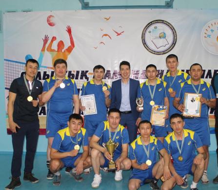 Облыстық мамандандырылған мектеп ата-аналары арасындағы волейбол турниры