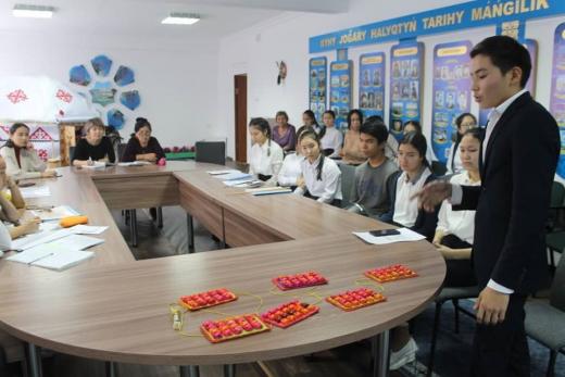 8-11 сынып оқушыларының ғылыми жобалар конкурсының қалалық кезені өтті