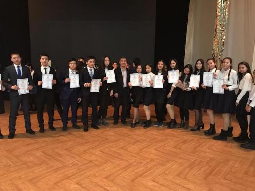 Облыстық ғылыми жобалар конкурсының жүлдегерлері